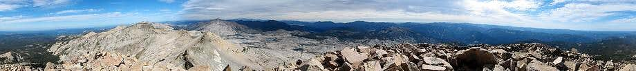 Pyramid Peak Summit Panorama