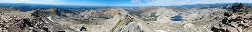 Mt Price Summit Panorama