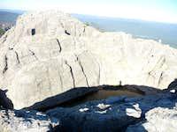Pond on top of Harney Peak
