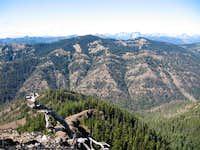 Sasse Mountain from Elbow Peak