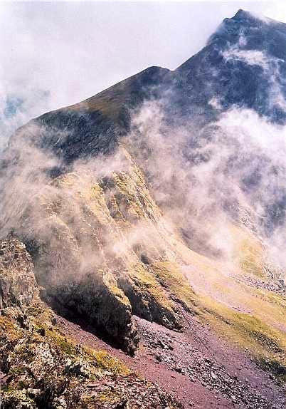 On the Fulsa east ridge