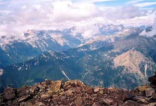 Fulsa summit view to Monte Perdido & Pineta
