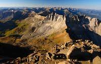 Mount Sneffels: summit view south