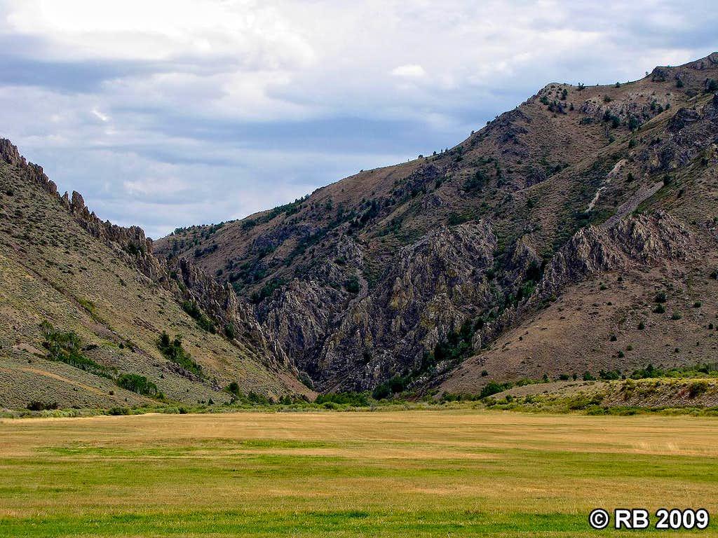Bull Run Canyon