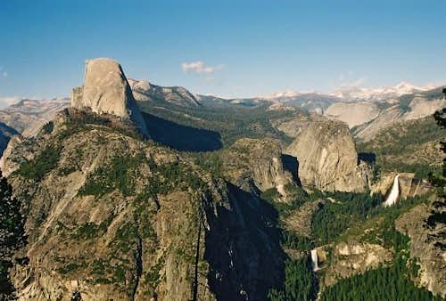 Panorama from Glacier Point,...