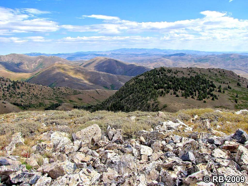 Porter Peak summit view