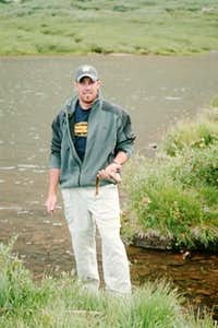 The Cutthroat Trout fishing...