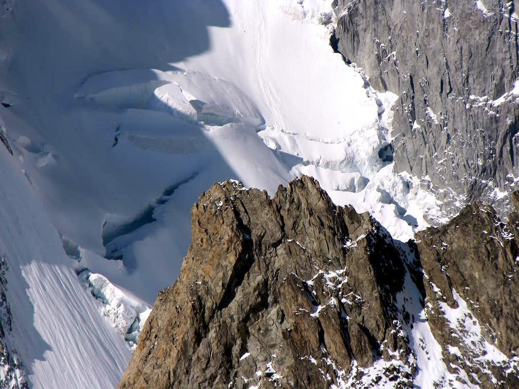 The Brenva Glacier