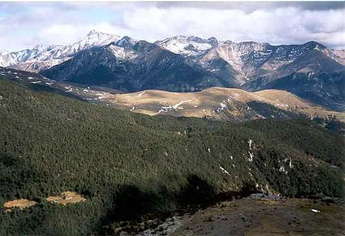 Looking East from Collado de la Cruz de Guardia