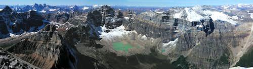 Mount Temple Panorama 2