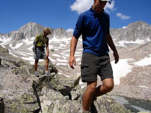 Aron and Bryan on Clark Peak