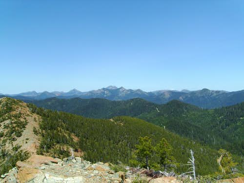Siskiyou Wilderness Crags