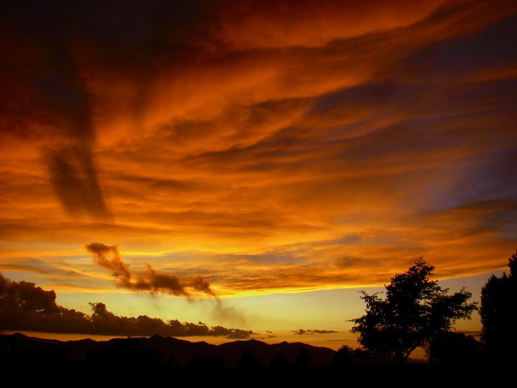 SLC Valley Sunset