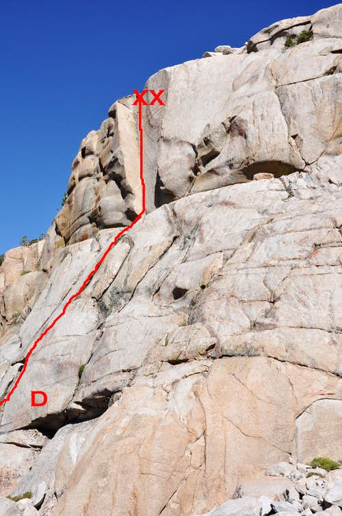 The Dihedral, 10a on the lower formation