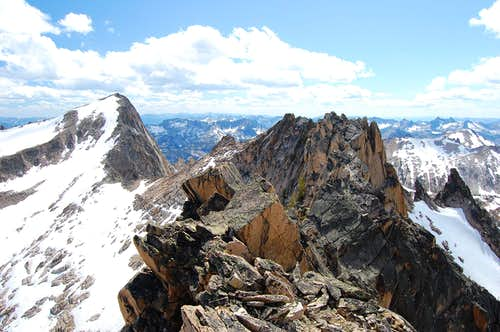 Dave\'s Peak Summit Ridge