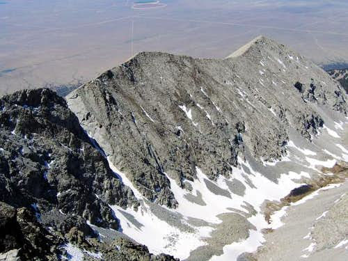 Little Bear Peak's southwest...