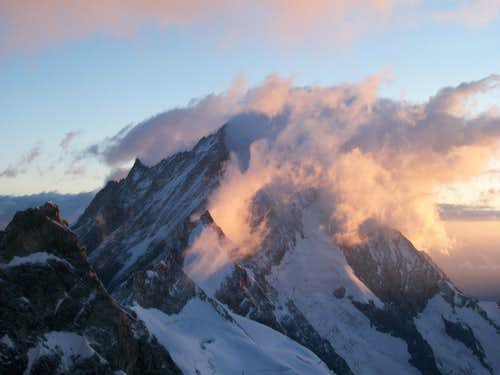 Dawn over Weisshorn