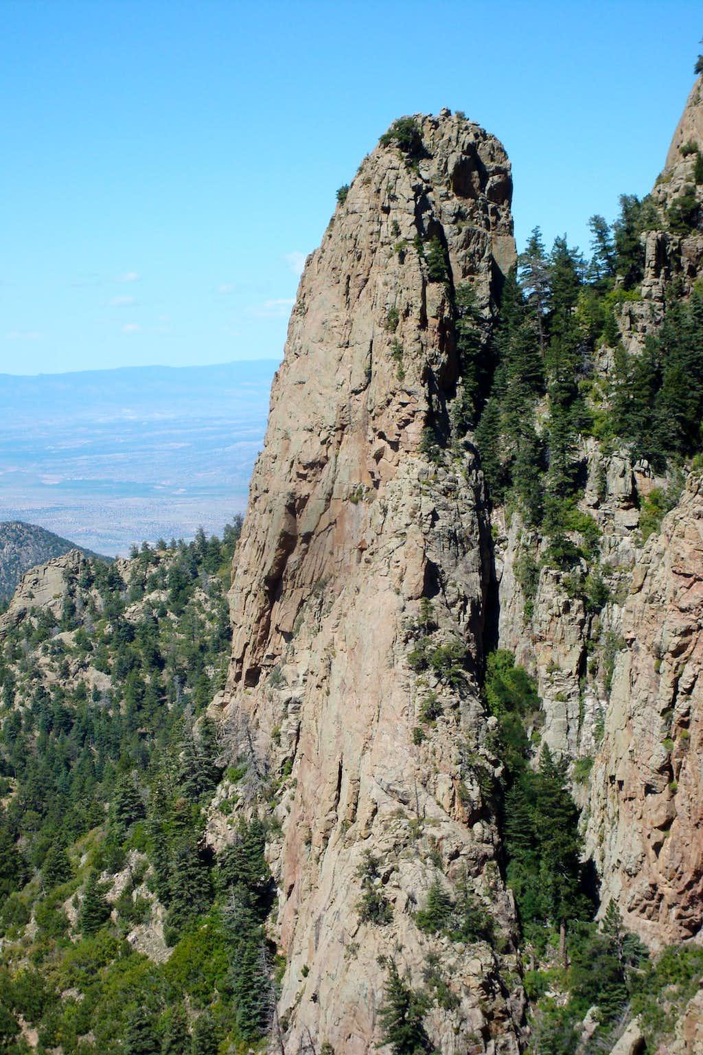View of the Pulpit, Sandias
