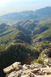 La Cueva canyon