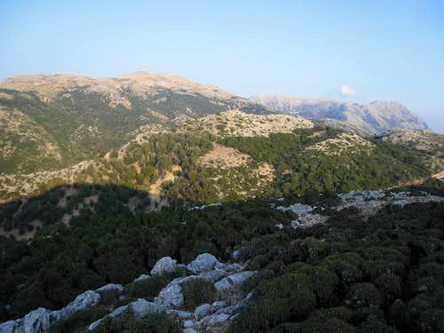 Perganti and Psili Korfi