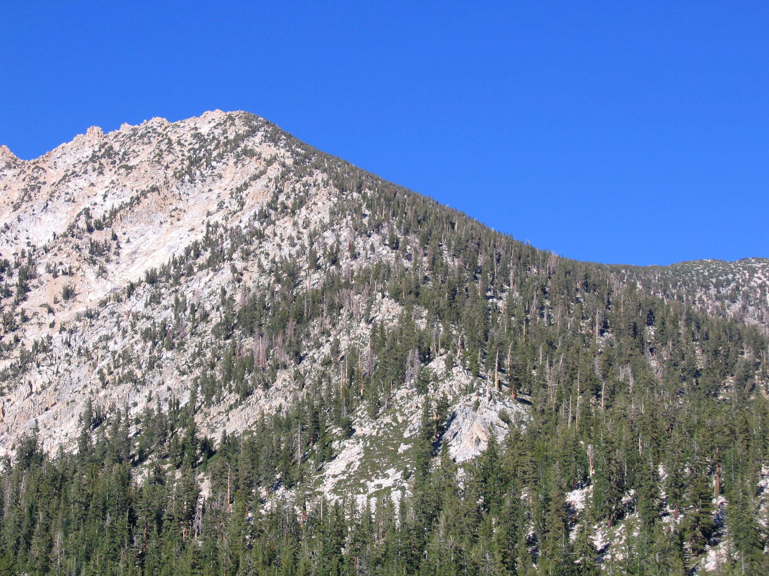South Ridge of Graveyard Peak