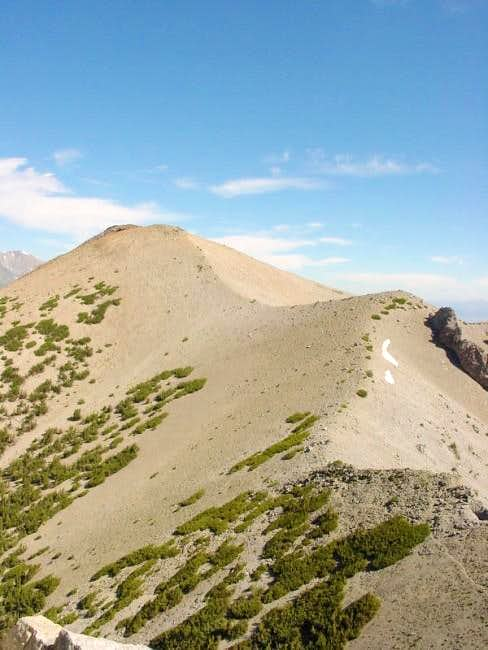 San Joaquin Mtn from the...