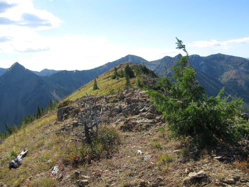Ousel Peak Summit