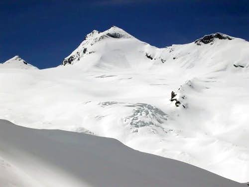 ski route from Valgrisenche