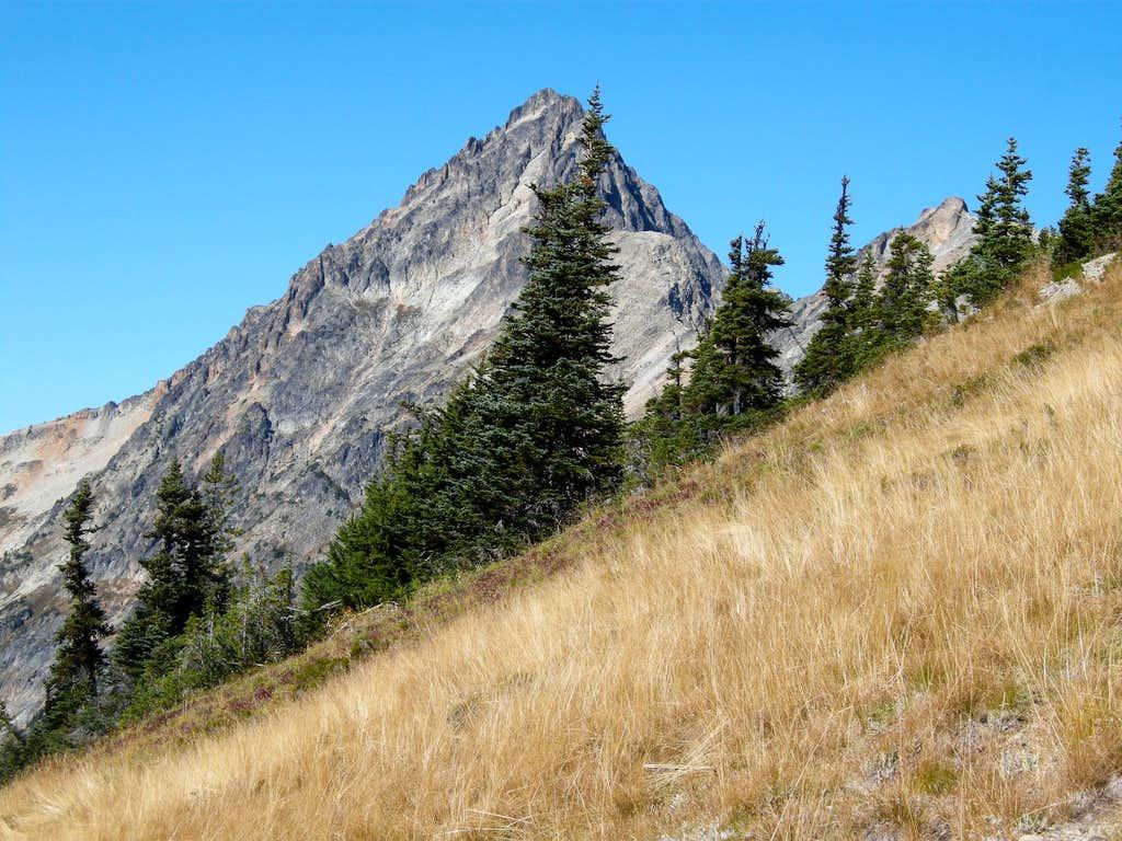 Mesahchie Peak from near Easy Pass