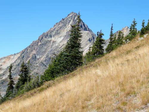 Mesahchie Peak from near Easy Pass