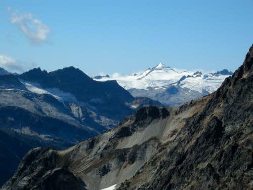 Eldorado Peak from near Kitling
