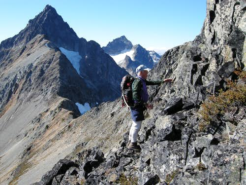 Climbing Kitling's SE Ridge