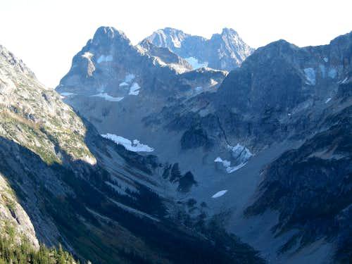 Black Peak above Fisher Peak