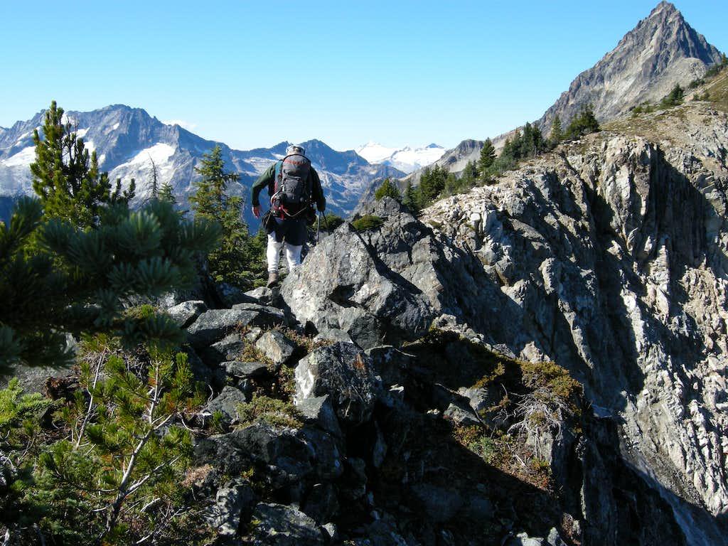 Traversing New Morning Ridge