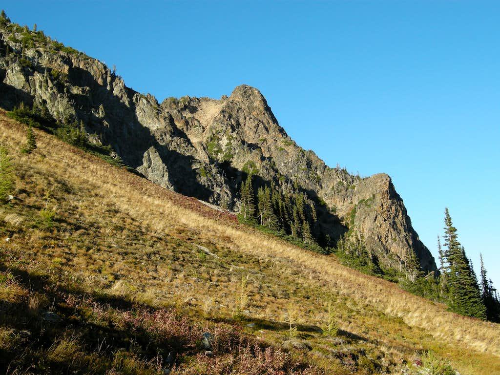 New Morning Peak from Easy Pass