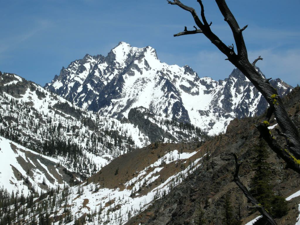 Mount Stuart from Judi's Peak