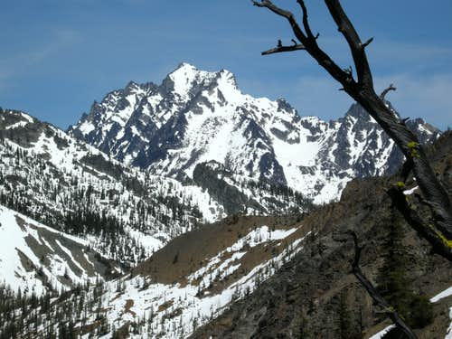 Mount Stuart from Judi's Peak
