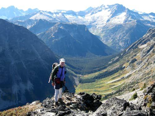 Mount Logan from Honeymoon Hump