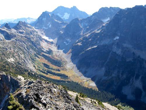 Black Peak and Fisher Peak
