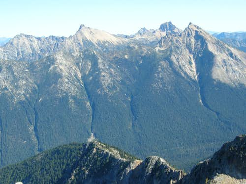 Mount Hardy from Honeymoon Hump