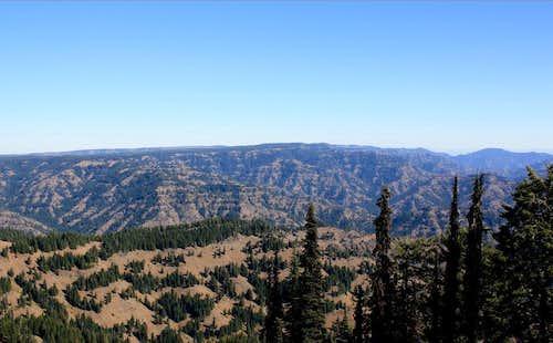 Seen from Oregon Butte