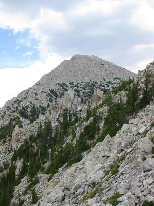 West side of the sub peak and Ibapah
