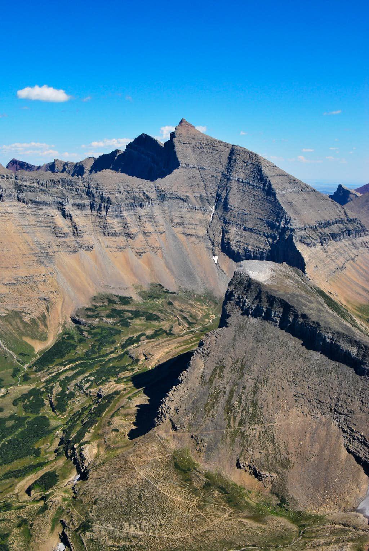 Piegan Pass and Mount Siyeh
