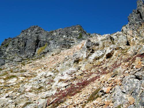 Climbing up Kitling