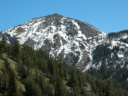 Earl Peak from Judys