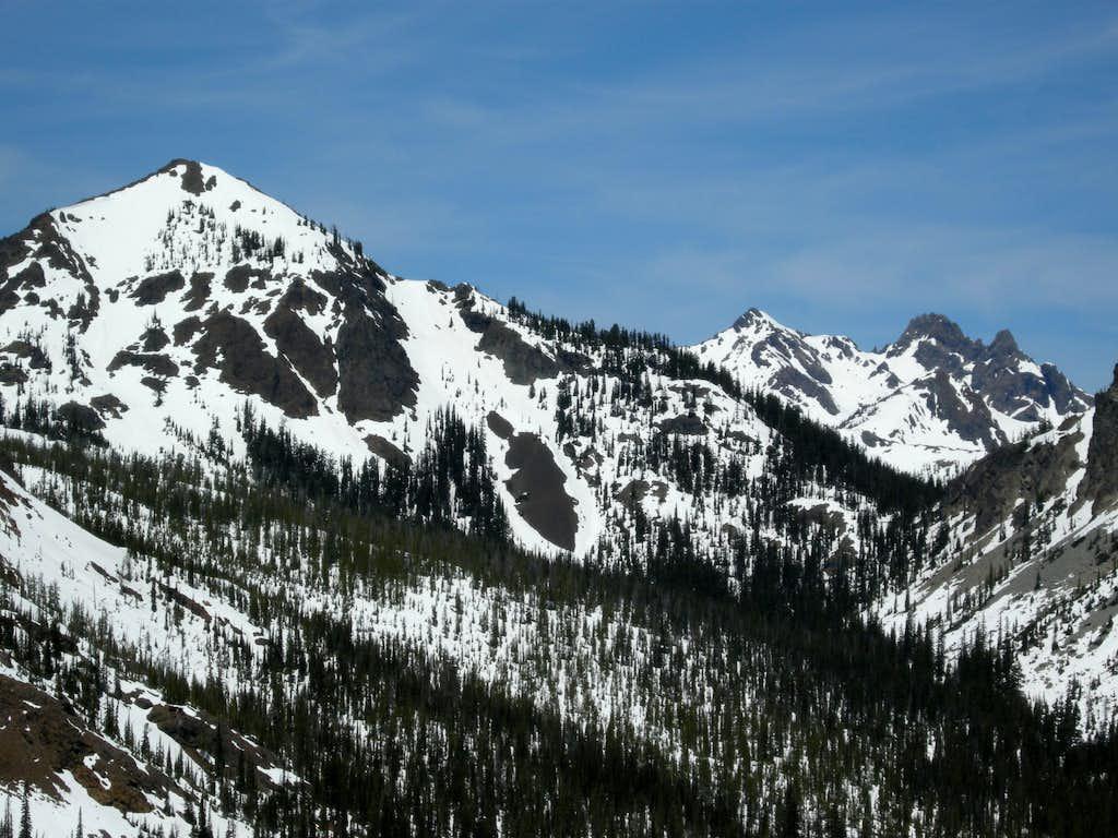 Teanaway (Gene's) Peak  and Ingalls Peaks
