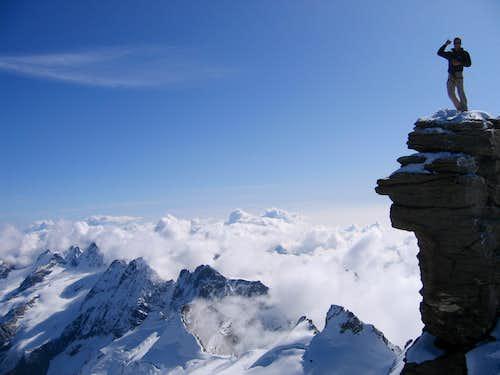 Gran Paradiso - Laveciau Glacier