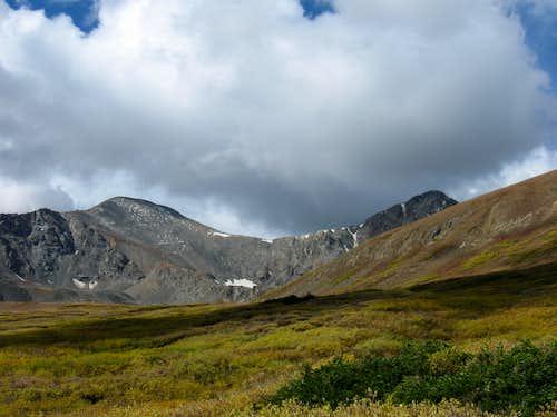 Torreys Peak and Grays Peak 9/20/09