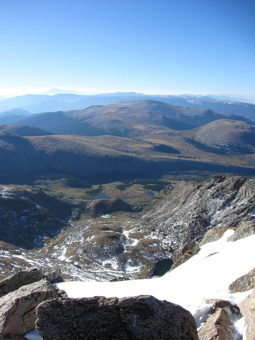 Looking South from Mount Bierstadt