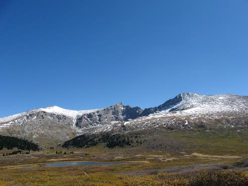 Mount Spalding, The Sawtooth, Mount Bierstadt